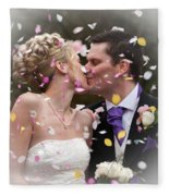 Anthony And Claire Fleece Blanket