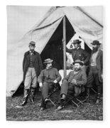 Antietam: Officials, 1862 Fleece Blanket
