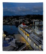 Antigua Dusk Fleece Blanket