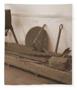 Antiquated Plantation Tools - 1 Fleece Blanket