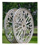 Antique Paddle Wheel University Of Alabama Birmingham Fleece Blanket