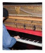 Antique Playtone Piano Fleece Blanket