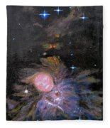 Aphrodite In Orion's Nebula Fleece Blanket