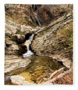 Apikuni Falls Fleece Blanket