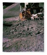 Apollo 15 Lunar Module Fleece Blanket