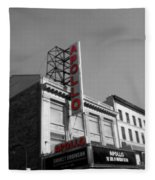 Apollo Theater In Harlem New York No.2 Fleece Blanket