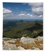 Appalachian Trail View Fleece Blanket