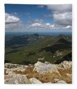 Appalachian Trail View Fleece Blanket