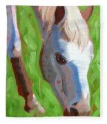 Appaloosa Fleece Blanket