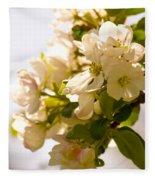 Apple Blossoms 9 Fleece Blanket