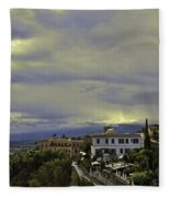 Approaching Storm - Sicily Fleece Blanket