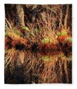 April's Pond Fleece Blanket