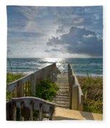 Aqua Seas Fleece Blanket