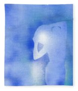 Aquarius 2 Fleece Blanket