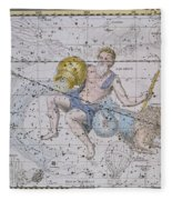 Aquarius And Capricorn Fleece Blanket