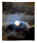 Aquarius Full Moon Fleece Blanket