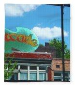Arcade Restaurant Memphis Fleece Blanket