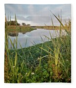 Arcata Marsh Fleece Blanket