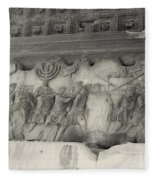 Arch Of Titus, Rome, Italy Fleece Blanket