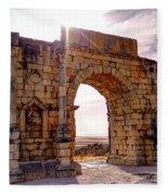 Arch Of Triumph Fleece Blanket