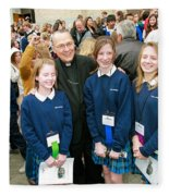 Archbishop Alex Brunett Fleece Blanket