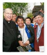 Archbishop Brunett 2007 Fleece Blanket