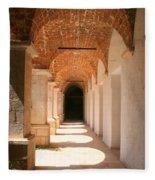 Arches And Shadows Fleece Blanket