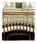 Architectural Detail New Orleans Fleece Blanket