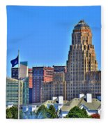 Architectural Eye Candy Fleece Blanket