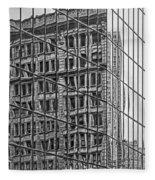 Architecture Reflections Fleece Blanket