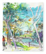 Arcos De Valvedez In Portugal 02 Fleece Blanket