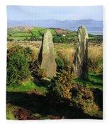 Ardgroom, Co Cork, Ireland Stone Circle Fleece Blanket