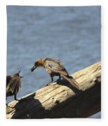 Are You Gonna Eat That? Fleece Blanket