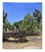 Arizona Wagon Fleece Blanket