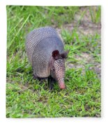 Armored Armadillo 01 Fleece Blanket