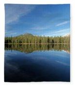 Arrow At Summit Lake Fleece Blanket