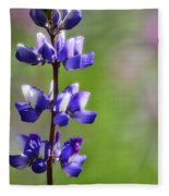 Arroyo Lupine  Fleece Blanket