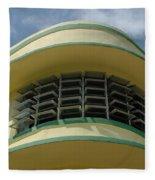 Art Deco Detail Fleece Blanket