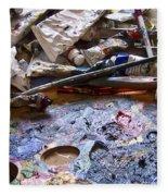 Art Studio Fleece Blanket