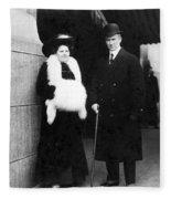 Arthur Henry Rostron Fleece Blanket