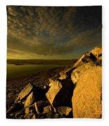 Artic Landscape Fleece Blanket