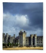 Ashford Castle, County Mayo, Ireland Fleece Blanket