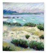 Asilomar Beach Fleece Blanket