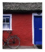 Askeaton, Co Limerick, Ireland, Bicycle Fleece Blanket