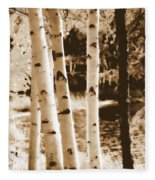 Aspens Llll Fleece Blanket