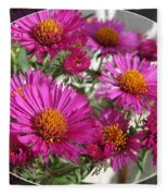 Aster Named September Ruby Fleece Blanket