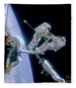 Astronauts Fleece Blanket