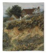 At Sandhills Witley Fleece Blanket