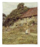 At Stedham Near Midhurst Fleece Blanket