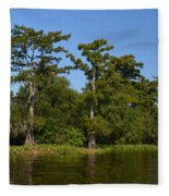 Atchafalaya Basin 41 Fleece Blanket